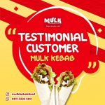 Testimonial Customer Mulk Kebab
