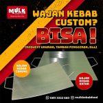 wajan kebab custom