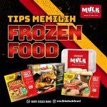 Tips memilih frozen food